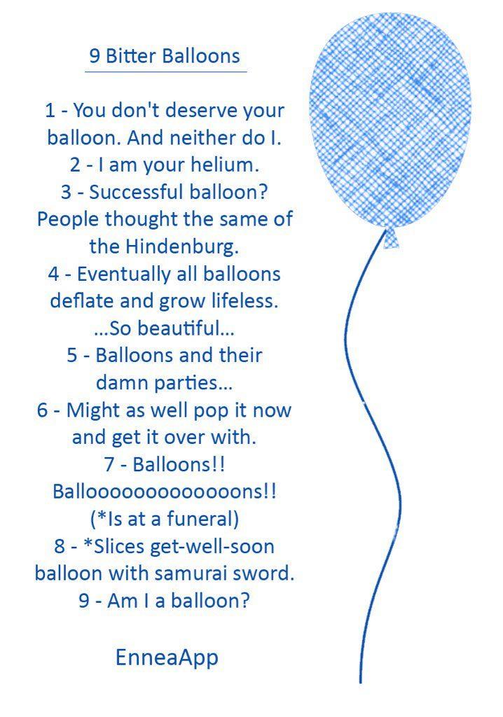 9 Bitter Ballons